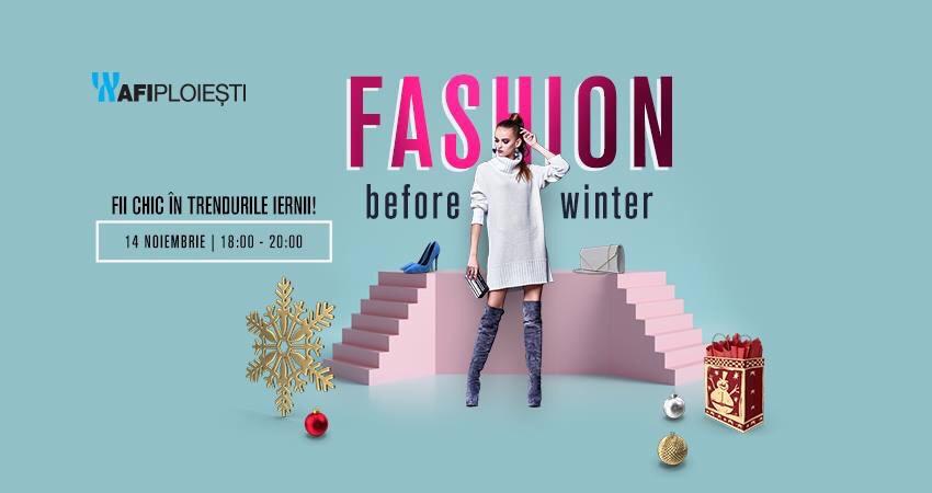 Fashion before winter, la AFI Ploiești. Descoperă trendurile sezonului